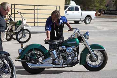 HAULBIKES vintage Harley